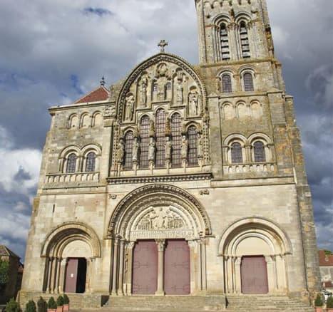Basilique Sainte-Marie Madeleine à Vezelay